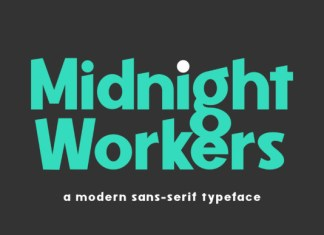 Midnight Workers Font