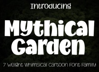 Mythical Garden Font