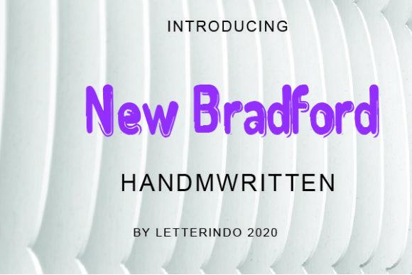 New Bradford Font
