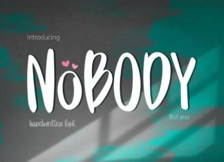 Nobody Font
