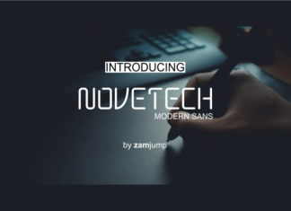 Novetech Font