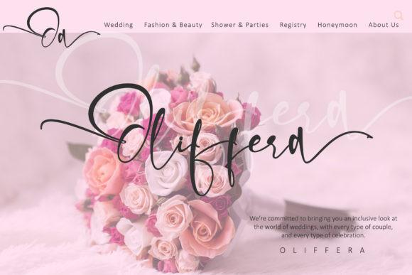 Olliffia Font