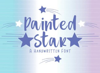 Painted Star Font
