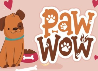 Paw Wow Font