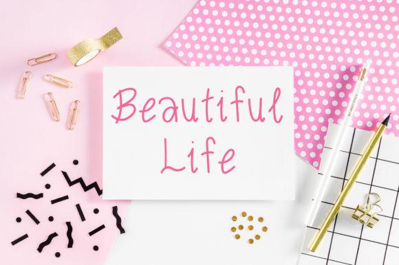 Pink Sakura Font
