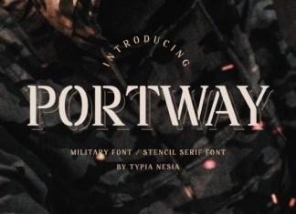 Portway Font
