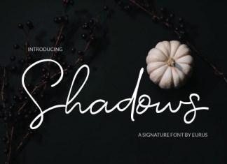 Shadows Font