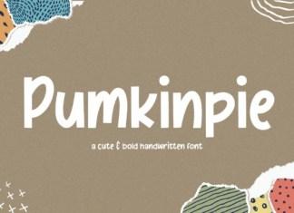 Pumkinpie Font
