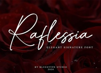 Raflessia Font