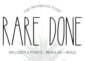 Rare Done Font