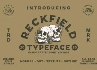 Reckfield Font