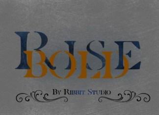 Rise Bold Font