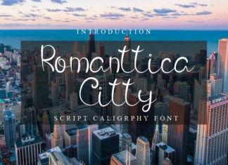 Romanttica Citty Font