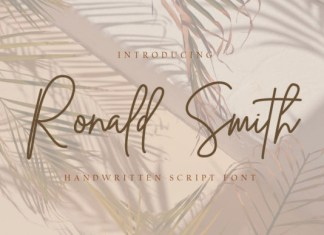 Ronald Smith Font