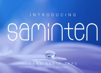Saminten Font