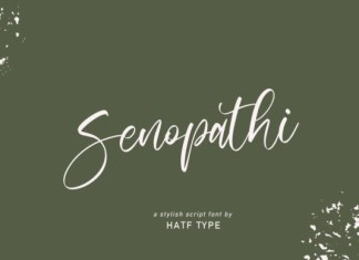 Senopathi Font