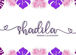 Shadila Font