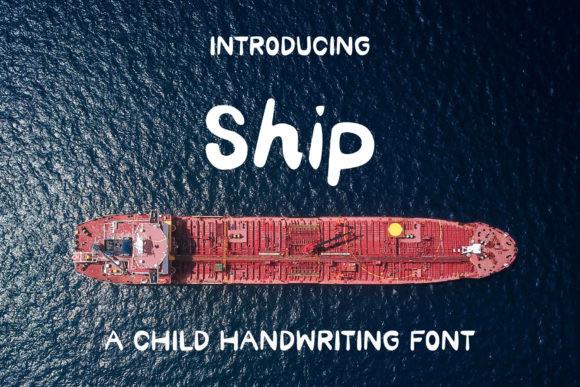 Ship Font