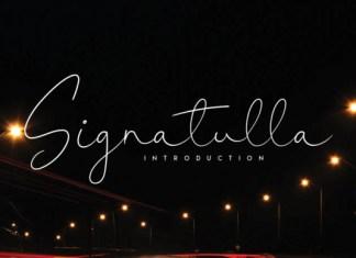 Signatulla Font