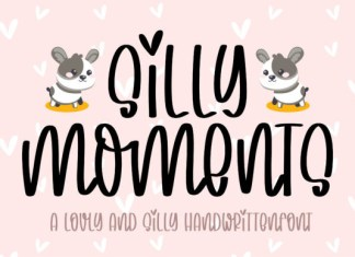 Silly Moments Font