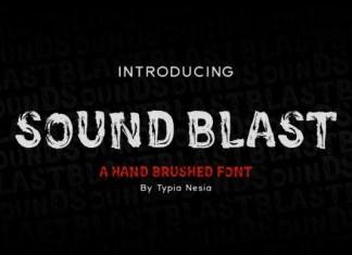 Sound Blast Font