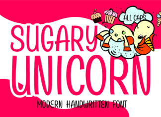 Sugary Unicorn Font