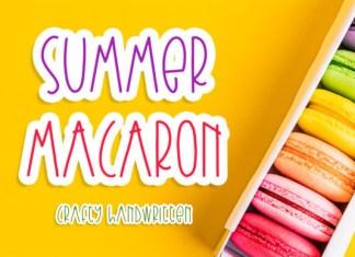 Summer Macaron Font