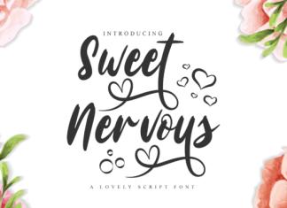 Sweet Nervous Font