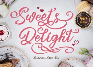 Sweet's Delight Font