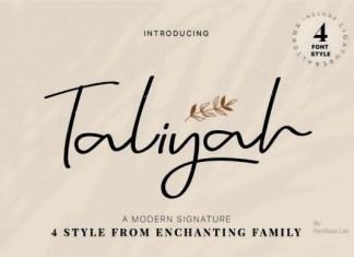 Taliyah Font