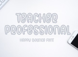 Teacher Professional Font
