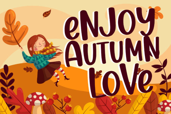 Thanks Autumn Font