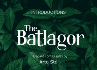 The Batlagor Font