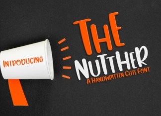 The Nutther Font