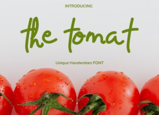 The Tomat Font