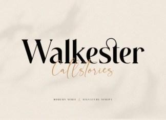Walkester Callstories Font