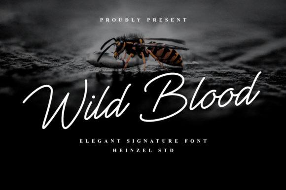 Wild Blood Font