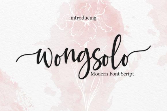 Wongsolo Font