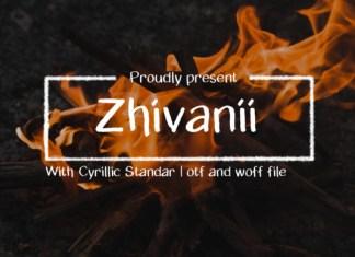Zhivanii Font