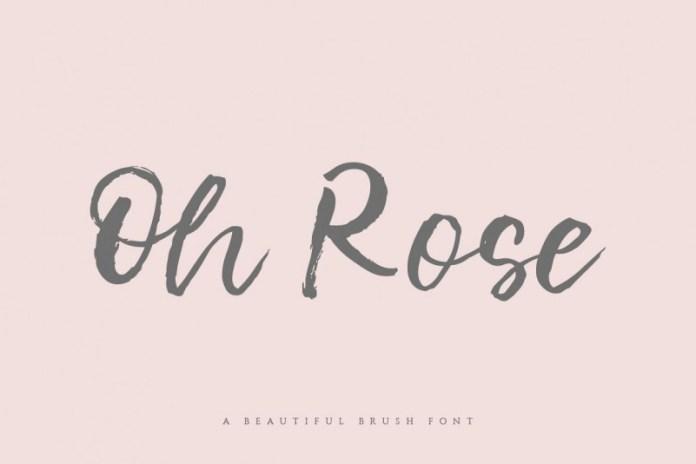 Oh Rose Font