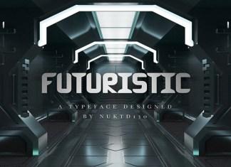 Futuristic Font