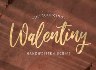 Walentiny Font