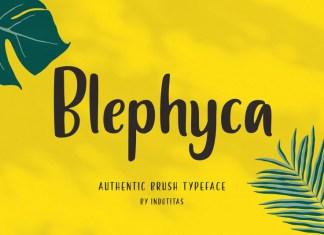 Blephyca Font