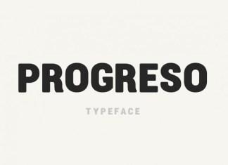 Progreso Font