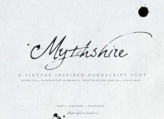 Mythshire Font