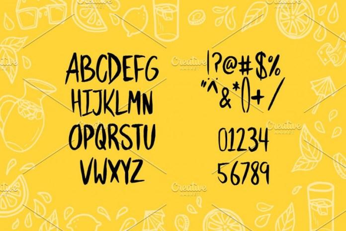 Hasty Font
