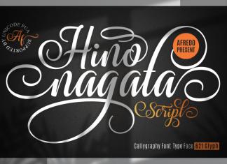 Hino Nagata Font