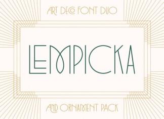 Lempicka Font