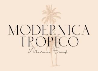 Modernica Tropico Font