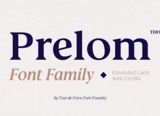 Prelom Font
